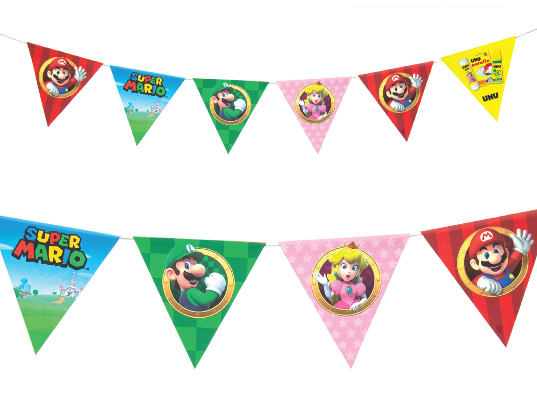 Super Mariop party decoration