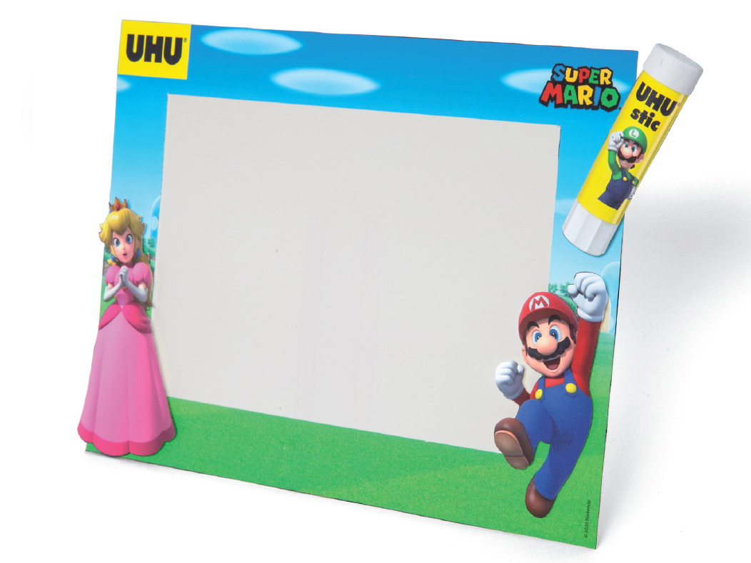 Super Mario photo frame