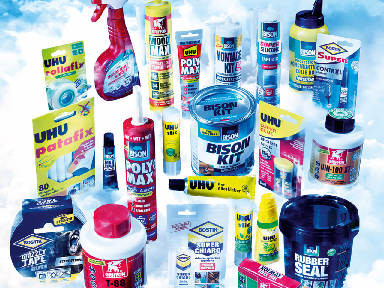Bolton Adhesives range
