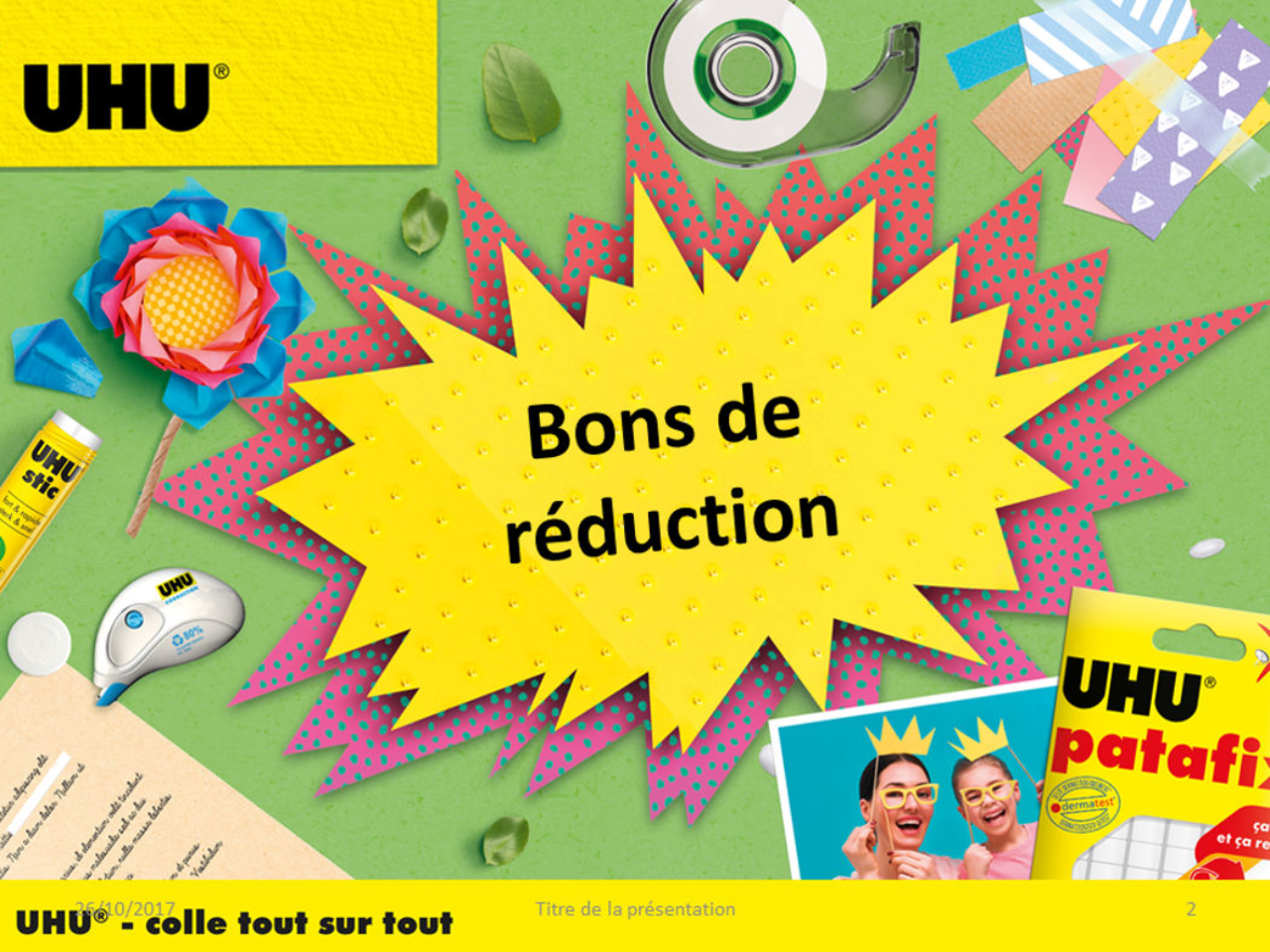 Bons de réduction